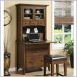 ADD TO YOUR SET: Riverside Furniture Falls Village Personal Workstation and Hutch