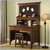 Riverside Furniture Falls Village Project Desk and Hutch
