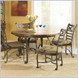 ADD TO YOUR SET: Riverside Furniture Stone Forge Round Dining Table