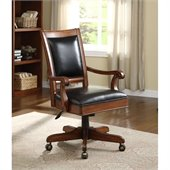 Riverside Furniture Bristol Court Desk Chair in Cognac Cherry