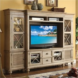Riverside Furniture Coventry Entertainment Center in Driftwood