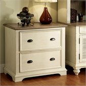 Riverside Furniture Coventry Lateral File Cabinet in Dover White