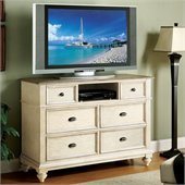 Riverside Furniture Coventry Two Tone Chest in Dover White