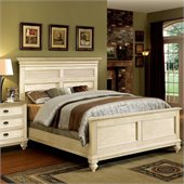 Riverside Furniture Coventry Two Tone Queen Bed in Dover White