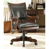 Riverside Furniture Castlewood Desk Chair in Warm Tobacco