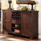 Riverside Furniture Castlewood Server in Warm Tobacco