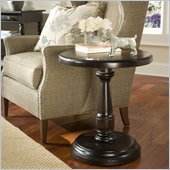 Riverside Furniture Binghamton End Table in Vintage Mocha