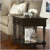 Riverside Furniture Binghamton Chairside Table in Vintage Mocha