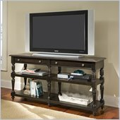 Riverside Furniture Binghamton Console Table/TV Stand in Vintage Mocha