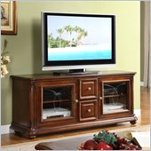 Riverside Furniture Celebrity Hills TV Console in Dusk Cherry