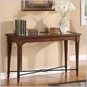 Riverside Furniture Monterey Sofa Table in Aged Ash