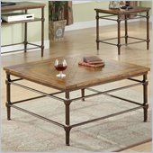 Riverside Furniture Casa Grande Cocktail Table in Saltillo Ash