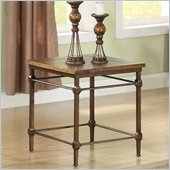 Riverside Furniture Casa Grande End Table in Saltillo Ash
