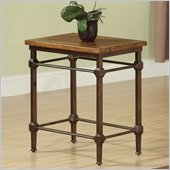 Riverside Furniture Casa Grande Chairside Table in Saltillo Ash