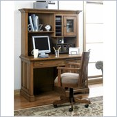 Riverside Furniture Woodland's Oak Desk in Canyon Oak