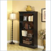 Riverside Furniture Bridgeport Bookcase in Burnished Cherry