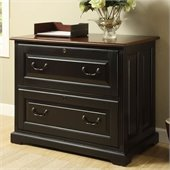Riverside Furniture Bridgeport  Lateral File in Antique Black