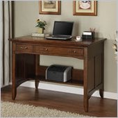 Riverside Furniture Oakton Village Project Desk in Distressed Oak
