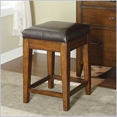 Riverside Furniture Oakton Village Counter Stool in Distressed Oak