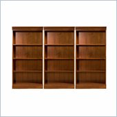 Riverside Furniture American Crossings Wall Bookcase in Fawn Cherry