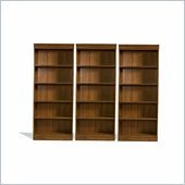 Riverside Furniture Woodland's Oak 72 Inch Wall Bookcase