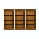Riverside Furniture Woodland's Oak 60 Inch Wall Bookcase