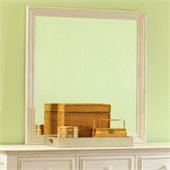 Riverside Furniture Placid Cove Rectangular Mirror in White