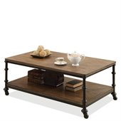 Riverside Furniture Camden Town Rectangular Cocktail Table in Hampton Road Ash