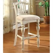 Riverside Furniture Mix-N-Match Chairs Upholstered Barstool in Dover White