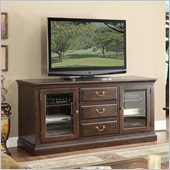 Riverside Furniture Binghamton 66 Inch TV Console in Vintage Mocha
