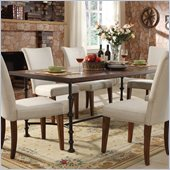 Riverside Furniture Fleet St. Rectangular Dining Table in Bianca Cherry