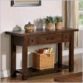 Riverside Furniture Windridge Console Table in Sagamore Burnished Ash