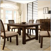 Riverside Furniture Windridge Rectangular Dining Table in Sagamore Burnished Ash
