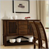 Riverside Furniture Windridge Sideboard in Sagamore Burnished Ash