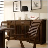 Riverside Furniture Windridge Server in Sagamore Burnished Ash