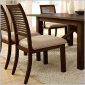 Riverside Furniture Windridge Side Chair in Sagamore Burnished Ash