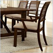 Riverside Furniture Windridge Arm Chair in Sagamore Burnished Ash