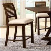 Riverside Furniture Windridge Counter Stool in Sagamore Burnished Ash