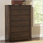 Riverside Furniture Windridge 6 Drawer Chest in Sagamore Burnished Ash