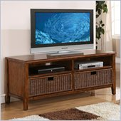 Riverside Furniture Claremont 60 Inch TV Console in Toffee