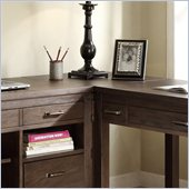 Riverside Furniture Promenade Corner Unit in Warm Cocoa