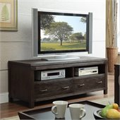 Riverside Furniture Promenade 60 Inch TV Console in Warm Cocoa