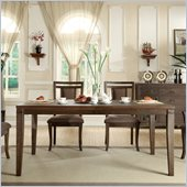 Riverside Furniture Promenade Rectangular Dining Table in Warm Cocoa