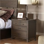 Riverside Furniture Promenade 3 Drawer Nightstand in Warm Cocoa