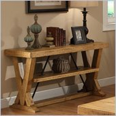 Riverside Furniture Summerhill Console Table in Canby Rustic Pine
