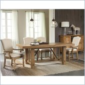 Riverside Furniture Summerhill 5 Pc Dining Table Set in Pine