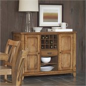 Riverside Furniture Summerhill Server in Canby Rustic Pine