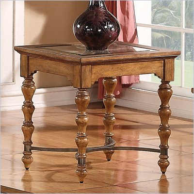 Riverside Furniture Bainbridge End Table in Tuscan