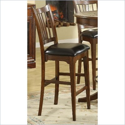 Riverside Furniture Bella Vista Bar Stool in Warm Cherry