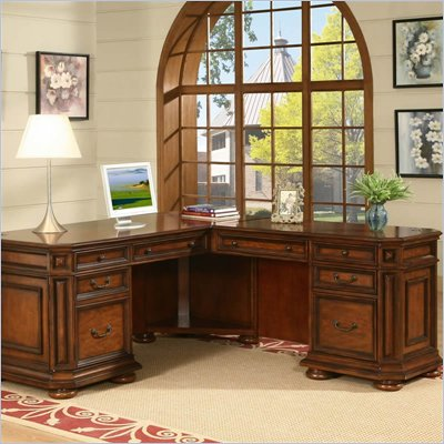 Riverside Furniture Cantata Desk and Return